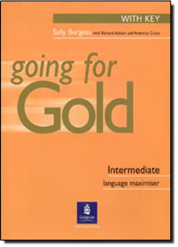 9780582518087: First Certificate Gold: Intermediate Language Maximiser with Key (Gold)