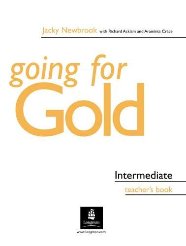 9780582518094: First Certificate Gold: Intermediate Teachers Book (Gold)
