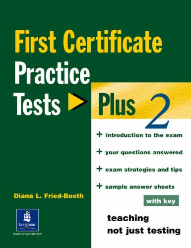 9780582518131: First certificate. Practice test plus. With key. Con CD Audio. Per le Scuole superiori: 2 (PTP)