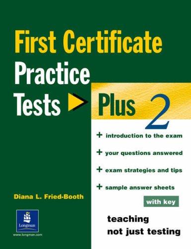 9780582518131: First certificate. Practice test plus. With key. Con CD Audio. Per le Scuole superiori: 2 (PTP)