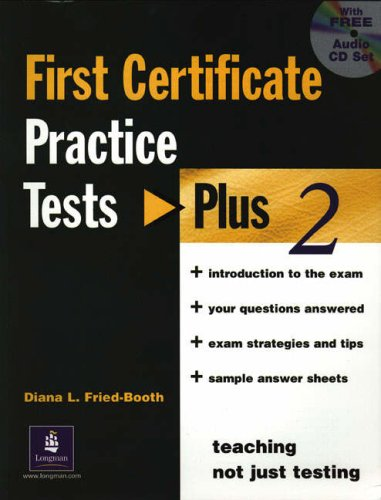 9780582518148: First certificate. Practice test plus. Without key. Con CD Audio. Per le Scuole superiori: 2 (PTP)