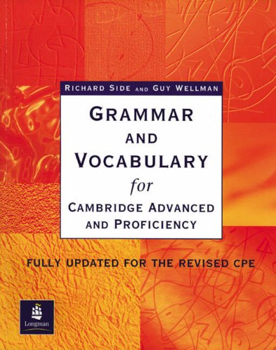 9780582518223: Grammar and Vocabulary for Cambridge Advanced and Proficiency: Without Key