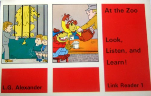9780582519732: Look, Listen and Learn: At the Zoo Link Reader 1