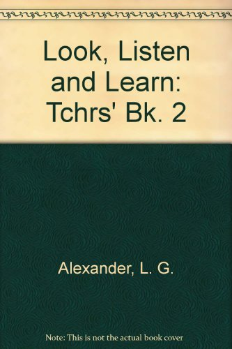 9780582519800: Look, Listen and Learn: Tchrs' Bk. 2