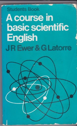 9780582520097: A Course in Basic Scientific English