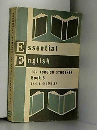 9780582520189: Essential English for Foreign Students Book 1