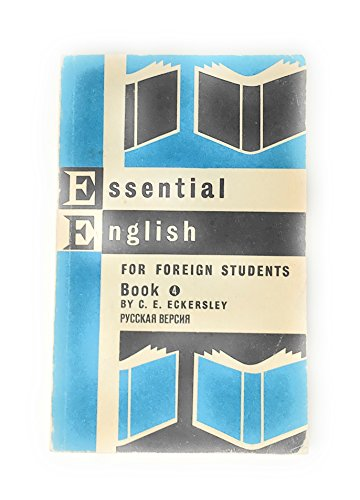 9780582520202: Essential English for Foreign Students, Book 4
