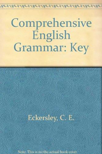 9780582520417: Comprehensive English Grammar: Key
