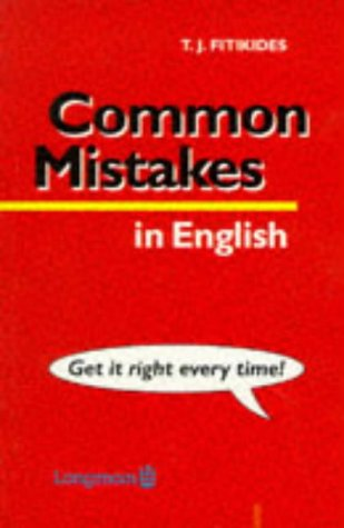 9780582520431: Common Mistakes in English
