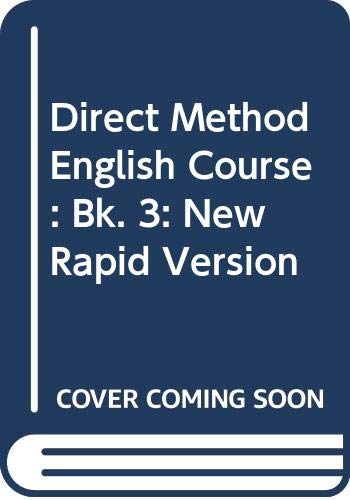 9780582520554: Direct Method English Course: Bk. 3: New Rapid Version