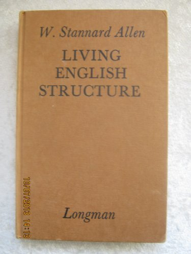 9780582521001: Living English Structure: Practice Book for Foreign Students
