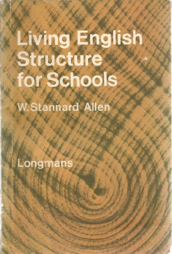 9780582521025: Living English Structure for Schools