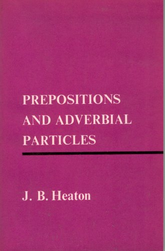 9780582521216: Prepositions and Adverbial Particles