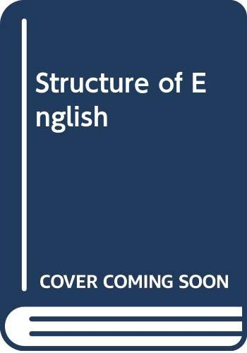 9780582521414: Structure of English