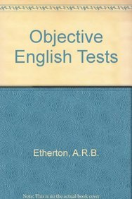 9780582521438: Objective English Tests