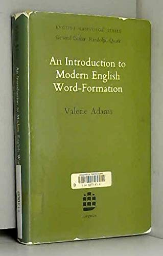 9780582521940: An Introduction to Modern English Word Formation (English Language Series)