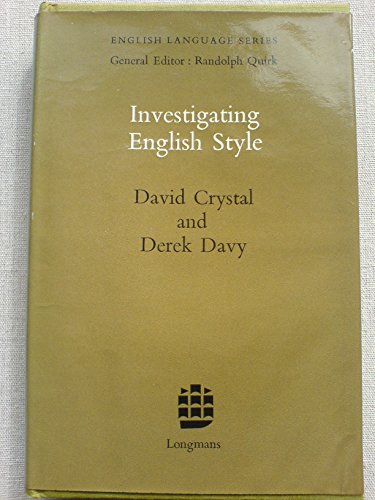 9780582522121: Investigating English Style