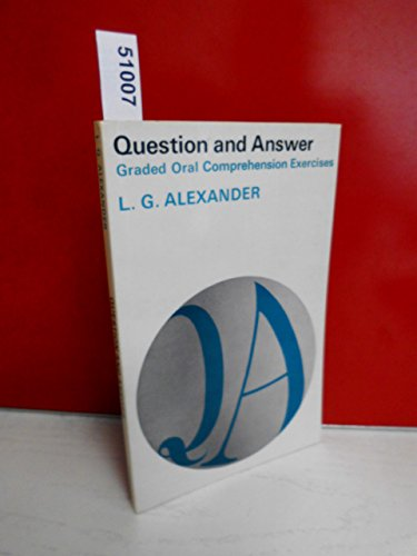 9780582523012: Question and Answer