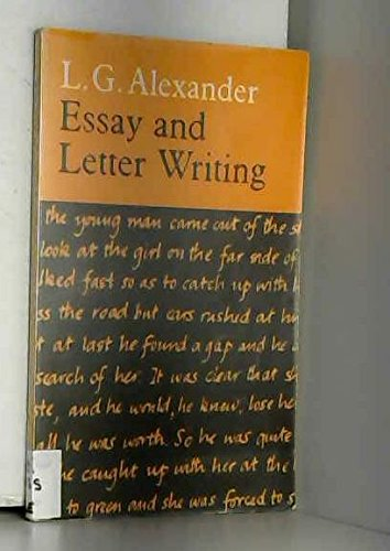 9780582523036: Essay And Letter Writing
