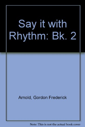9780582523241: Say it with Rhythm: Bk. 2
