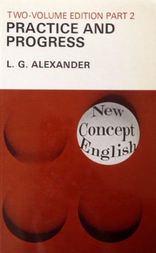 9780582523289 practice and progress pt 2 new concept english
