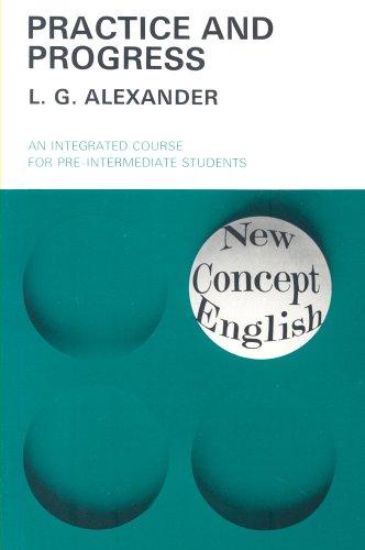 9780582523302: PRATICE AND PROGRESS 4E-3E. AN INTEGRATED COURSE FOR PRE-INTERMEDIATE STUDENTS (New concept english)
