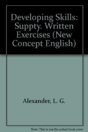 9780582523364: Developing Skills: Suppty. Written Exercises (New Concept English)