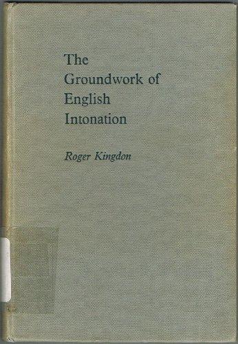 9780582523739: Groundwork of English Intonation