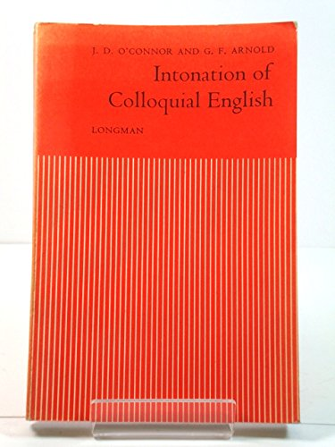 9780582523807: Intonation of Colloquial English