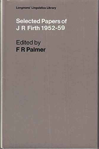 9780582523982: Selected Papers, 1952-59 (Linguistics Library)