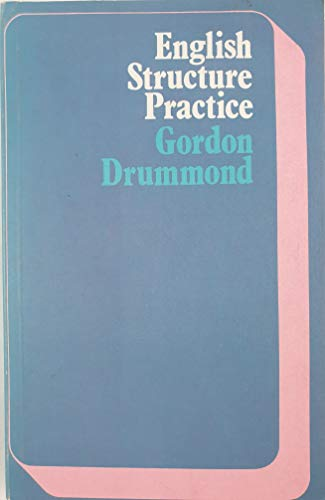 9780582524385: English Structure Practice