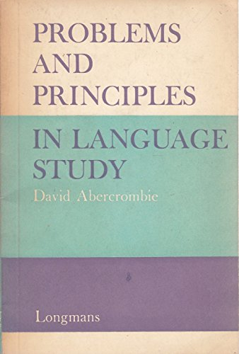 Problems and Principles in Language Study