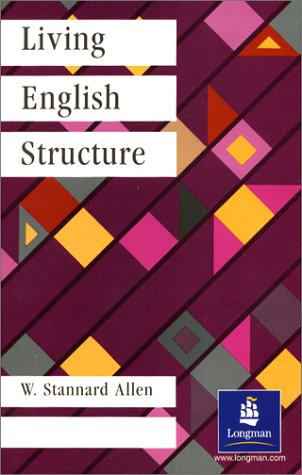 9780582525061: Living English Structure