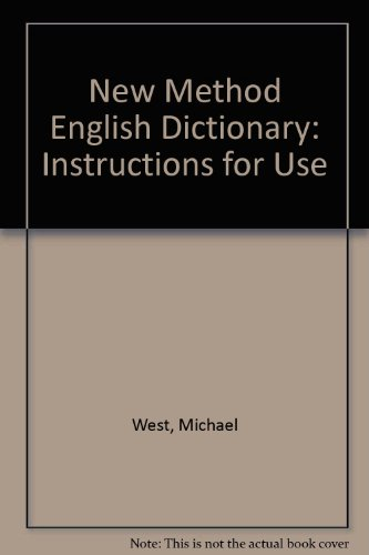 9780582525627: New Method English Dictionary