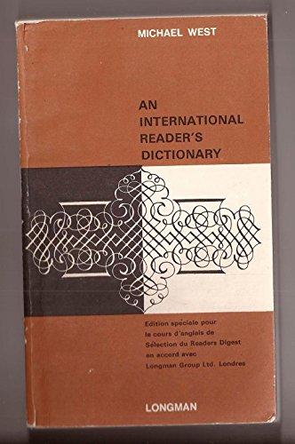 9780582525665: International Reader's Dictionary