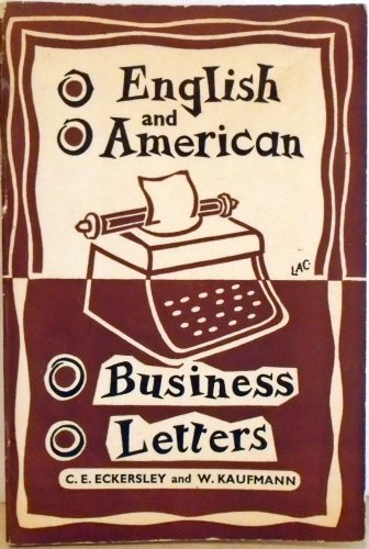 9780582526068: English and American Business Letters