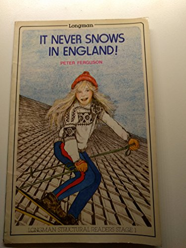 9780582526143: It Never Snows in England (Structural Readers)