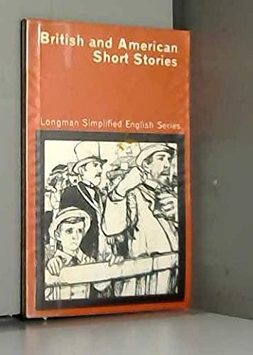 9780582528123: British and American Short Stories