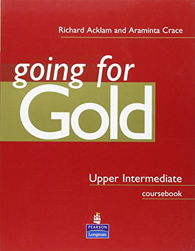 9780582529175: Gold Upper-intermediate: Going for Gold Upper Intermediate Coursebook Coursebook