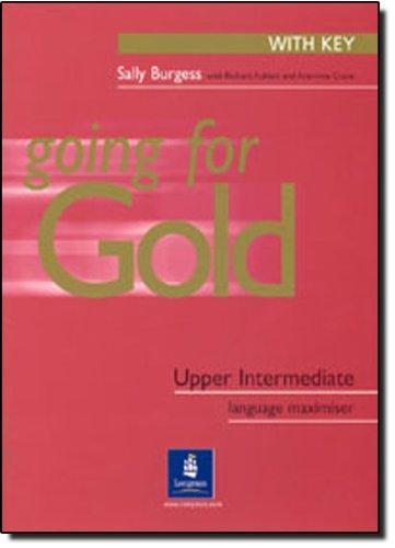 9780582529199: Going for gold. Upper Intermediate plus. Maximiser. With key. Per le Scuole superiori