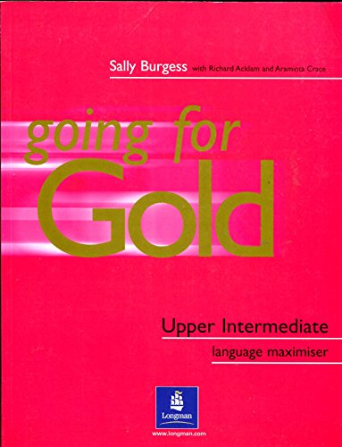 9780582529205: Going for gold. Upper intermediate plus. Maximiser. No Key. Per le Scuole superiori: Without Key