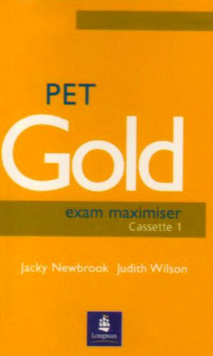 9780582529298: PET Gold Exam Maximiser: Audio Cassettes (20