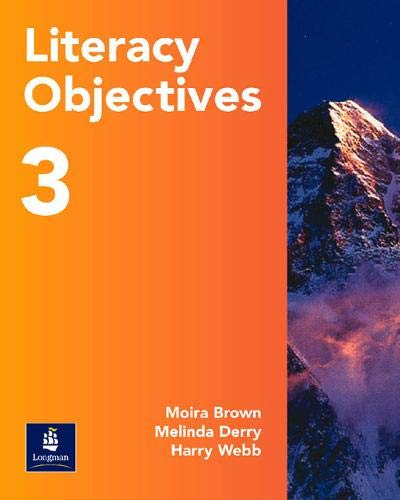 9780582529885: Literacy Objectives Pupils' Book 3: Paper Year 9