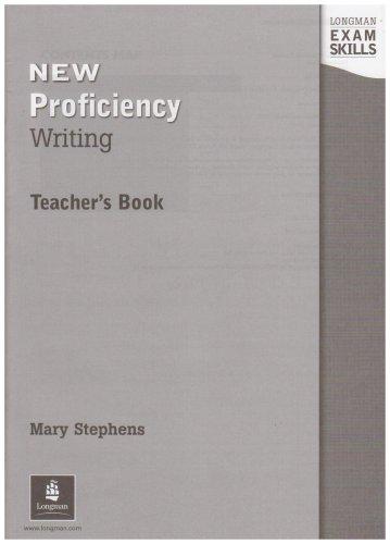 9780582529984: Longman Exam Skills: CPE Writing, Teacher's Book