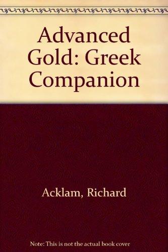 9780582529991: CAE Gold Greek Companion Paper