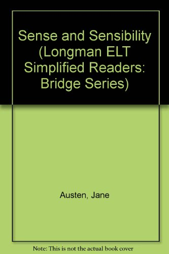 9780582530003: Sense and Sensibility (Longman ELT Simplified Readers: Bridge Series)