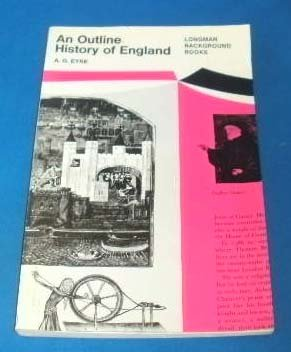 9780582532243: Outline History of England (Longman Background Books)