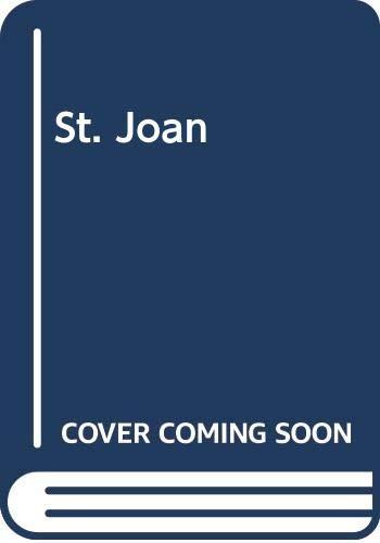 9780582532700: St. Joan