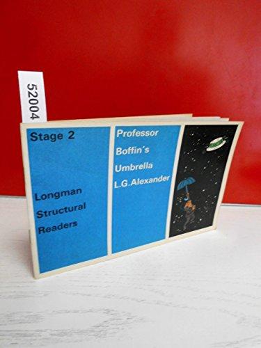 9780582537248: Professor Boffin's Umbrella (Structural Readers)