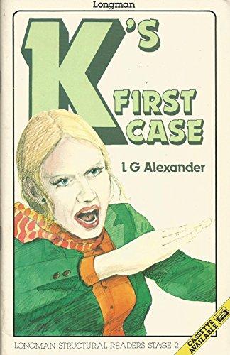 K's First Case Book & Cassette (Penguin: Alexander, L. G.